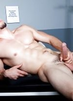 Richie serrato shows off every inch of his smooth
