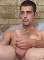 Hot dude loves to masturbate